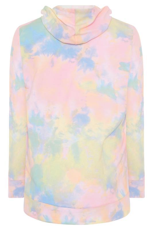 Multi Pastel Tie Dye Zip Hoodie_BK.jpg