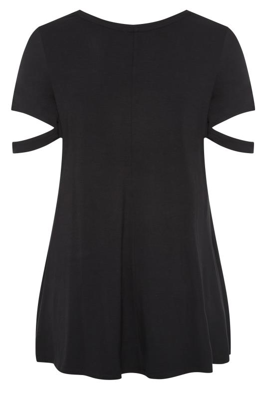 Black Cuff Sleeve Detail T-Shirt_BK.jpg
