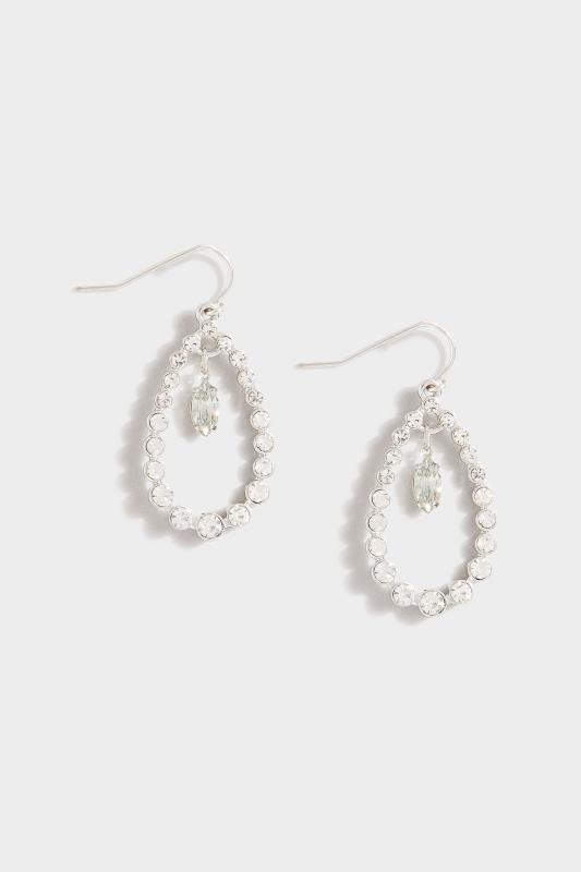 Silver Diamante Teardrop Earrings_A.jpg