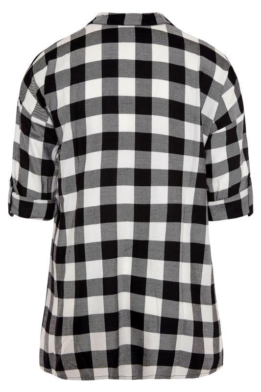 Black Check Oversized Shirt_BK.jpg