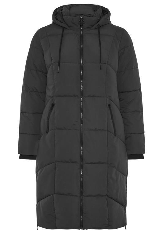 Black Hooded Puffer Maxi Coat_F.jpg
