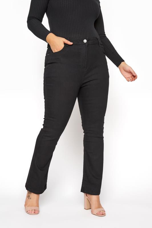 Plus Size Bootcut Jeans Black Bootcut ISLA Jeans