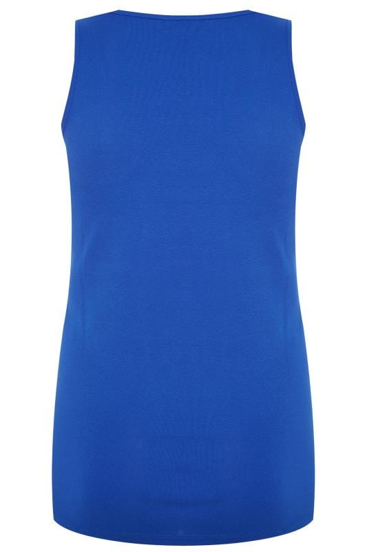 Cobalt Blue Vest Top