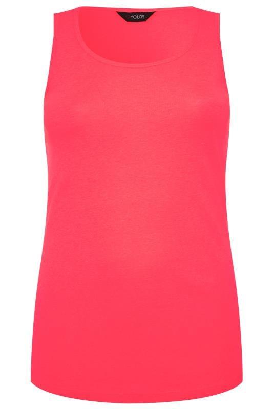 Neon Pink Vest Top