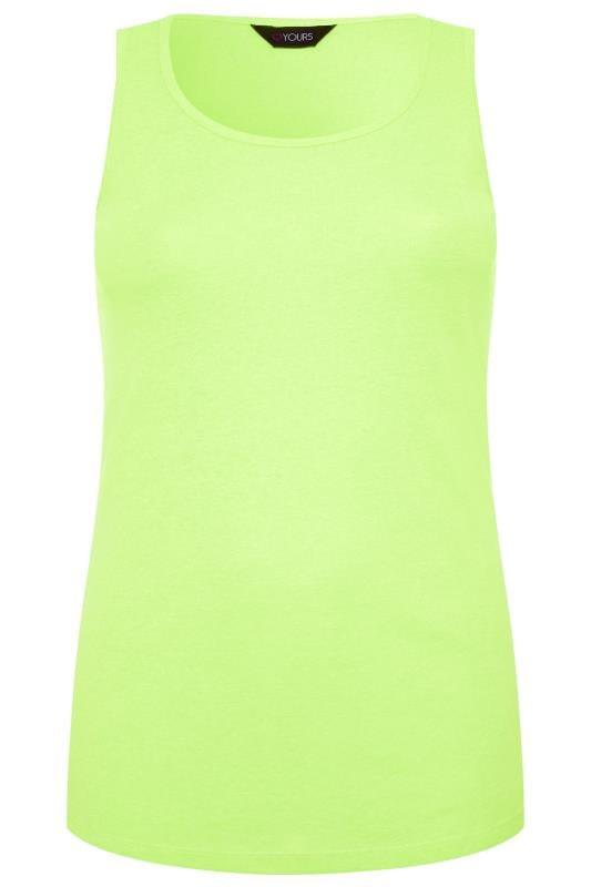 Neon Yellow Vest Top