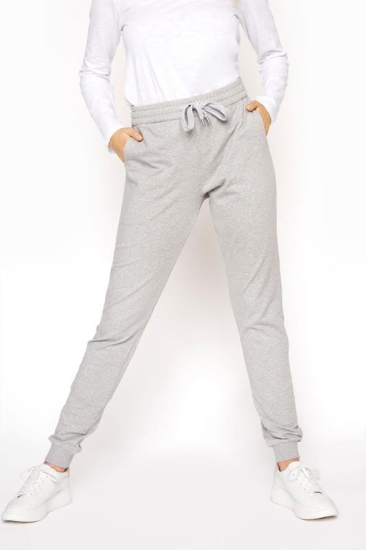 Grey Cuffed Leg Jogger
