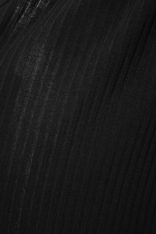 Black Waterfall Rib Cardigan_S.jpg