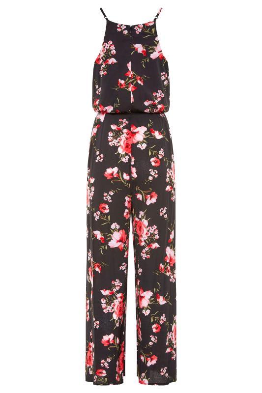 LTS Black Floral Wide Leg Strappy Jumpsuit_BK.jpg