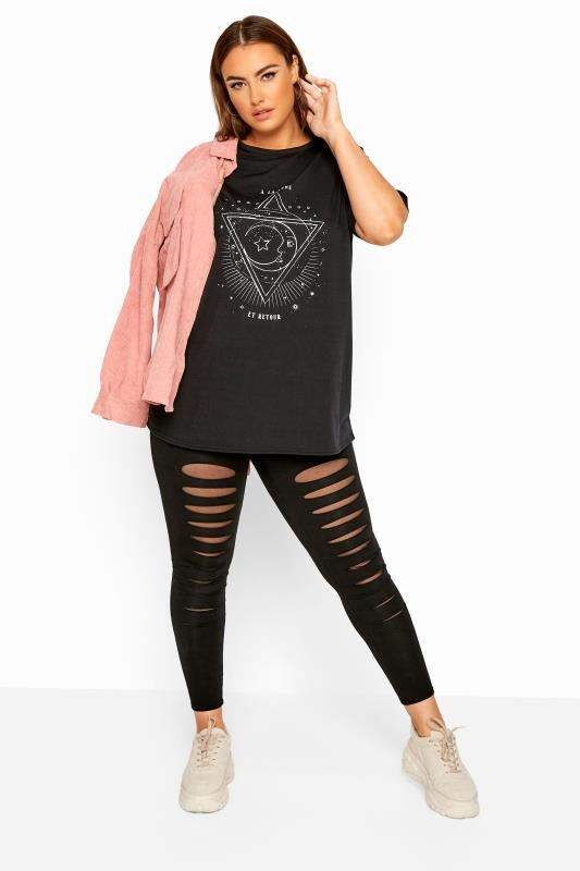 LIMITED COLLECTION Black Astrology Print Top