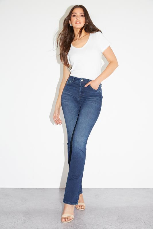 Indigo Blue Ultra Stretch Bootcut Jeans_L2.jpg
