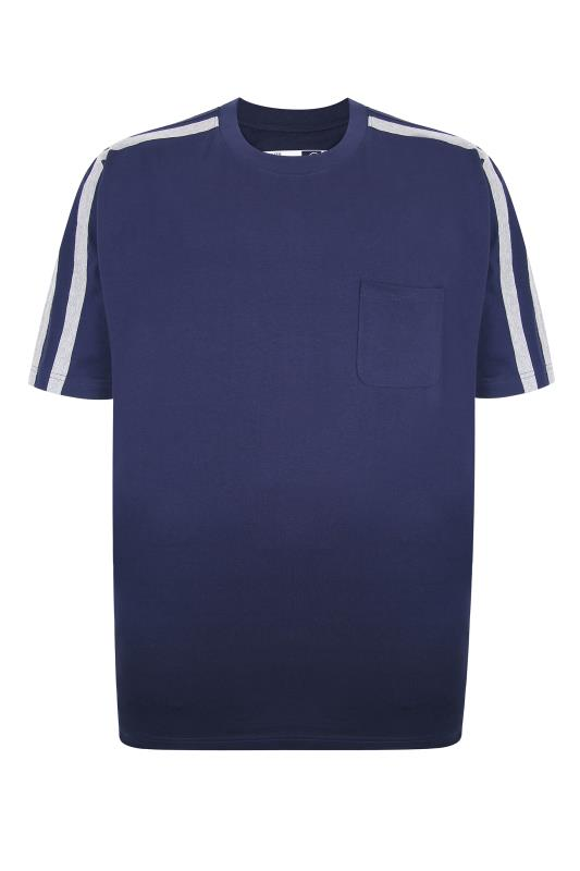 ED BAXTER Navy Lounge T-Shirt_F.jpg
