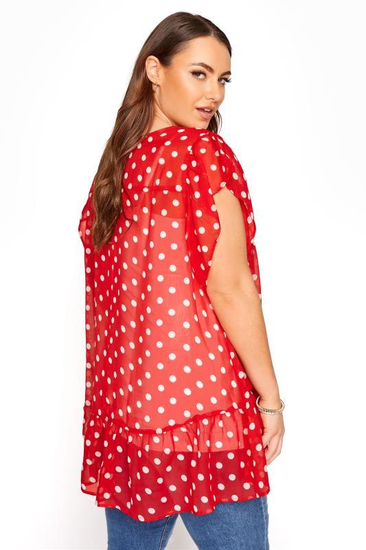 Red Polka Dot Frill Hem Tunic_C.jpg
