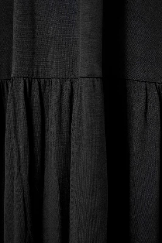 LTS Black Strappy Drop Waist Maxi Dress_S.jpg