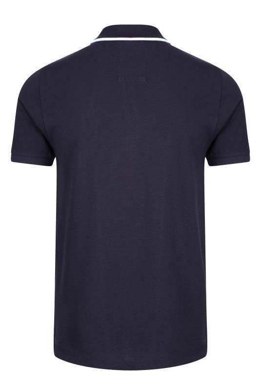 LUKE 1977 Navy Lorenzo Polo Shirt_BK.jpg