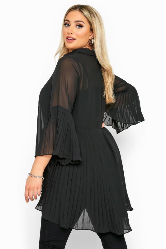 Black Pleated Longline Shirt_C.jpg