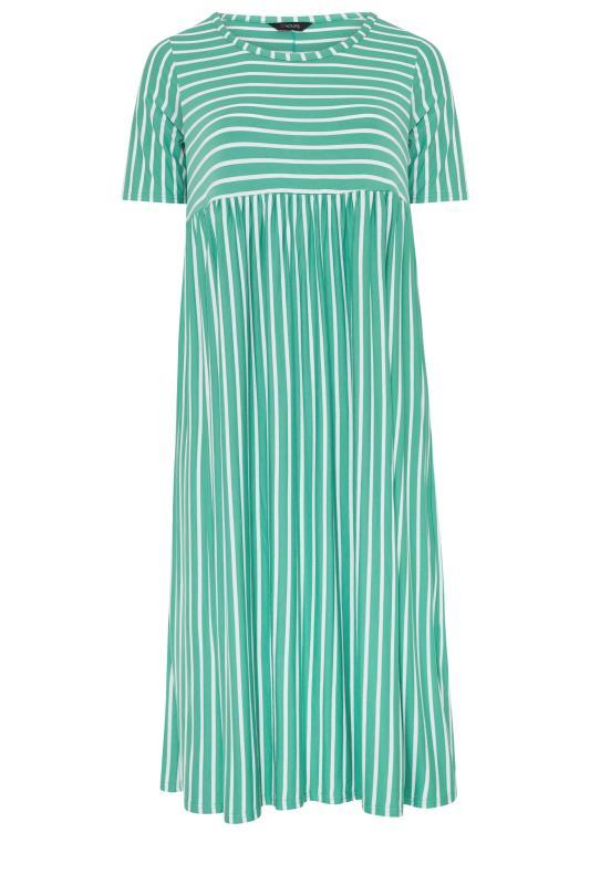 Emerald Green Stripe Dress_f.jpg