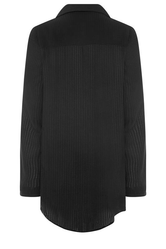 LTS Black Textured Overhead Shirt_BK.jpg