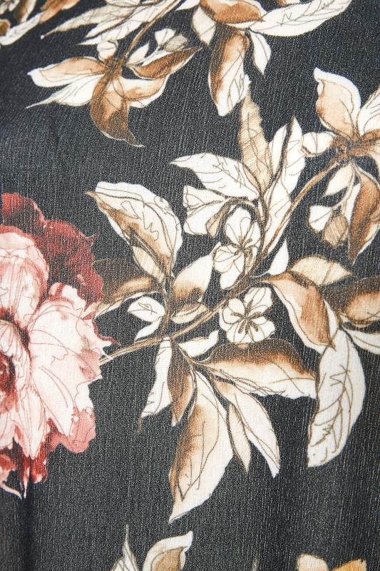 Black Floral Side Split Tunic_S.jpg