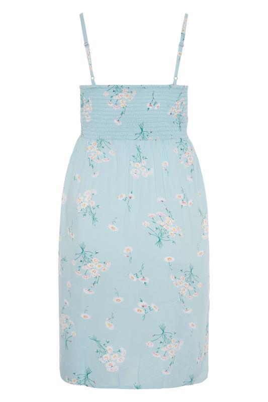 Blue Floral Button Front Cami Dress_BK.jpg