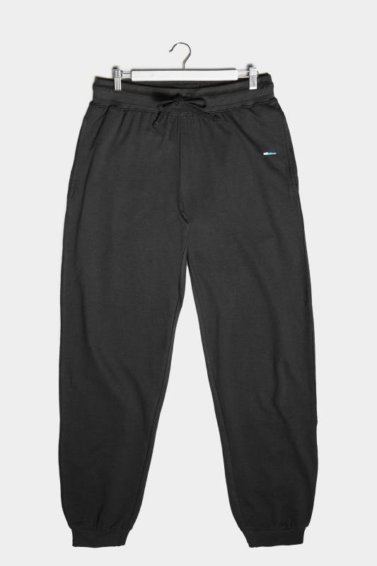 Plus Size  BadRhino Black Essential Joggers