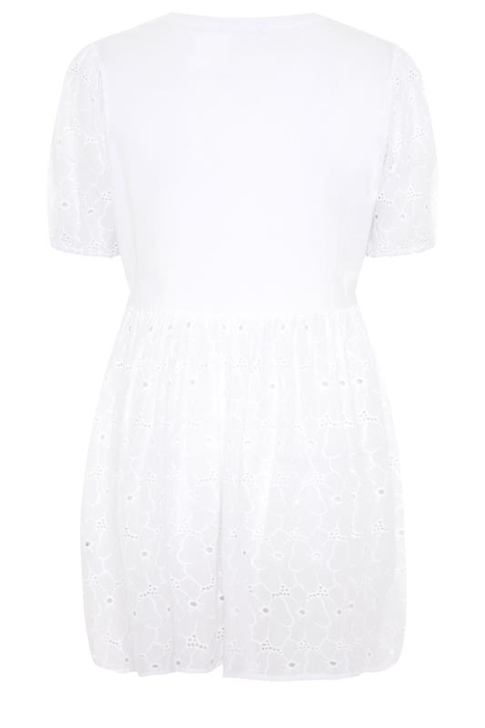 LIMITED COLLECTION White Anglaise Peplum Top_BK.jpg