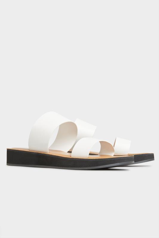 LTS White Two Strap Flat Sandals_B.jpg