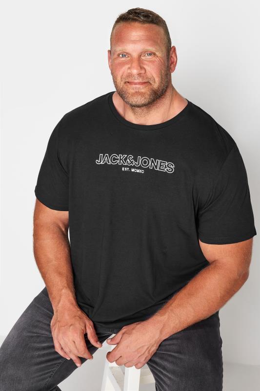 JACK & JONES Black Bank T-Shirt_M.jpg