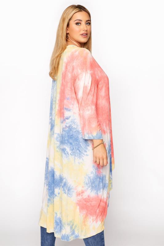 Multicoloured Tie Dye Kimono_C.jpg