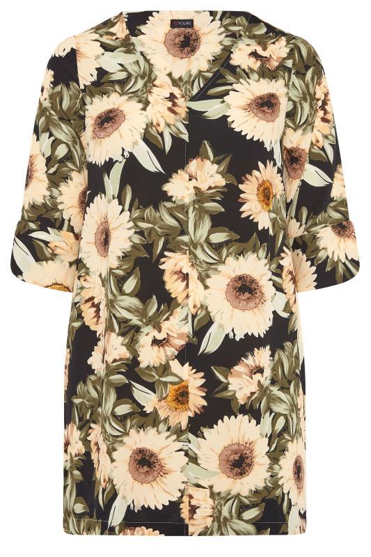 Black Sunflower V-Neck Shift Dress_F.jpg