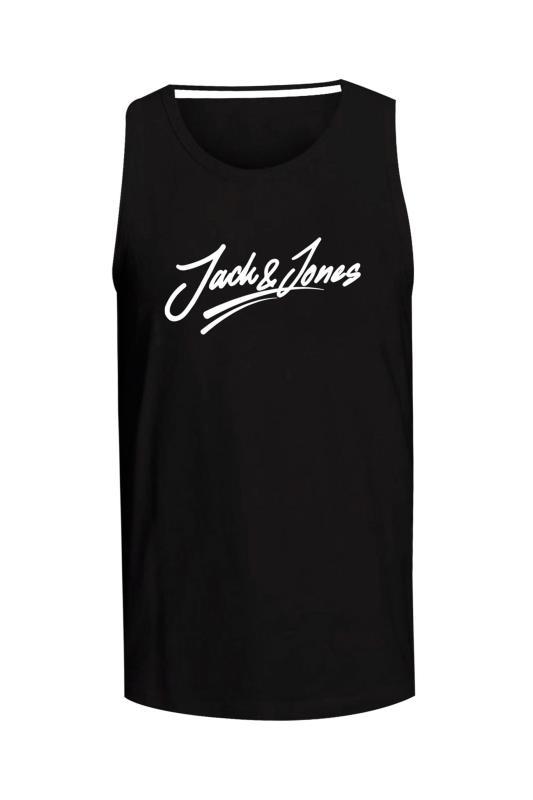 Plus Size  JACK & JONES Black Jorflexer Tank Top