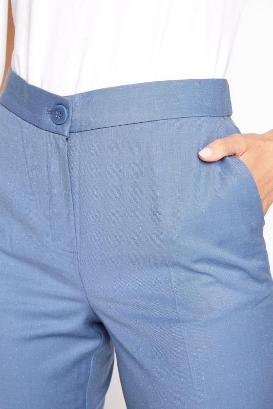 Blue Slim Leg Suit Trousers_D.jpg