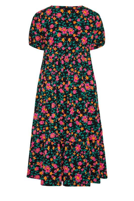 LIMITED COLLECTION Black Floral Tiered Maxi Dress_bk.jpg