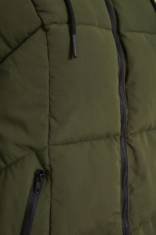 Khaki Hooded Puffer Maxi Coat_S.jpg