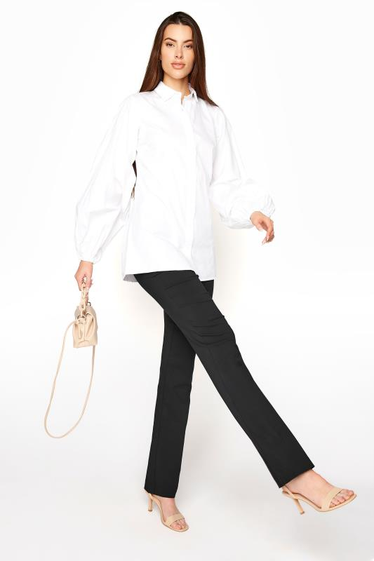 Tall  Black Allegro Bootcut Trousers