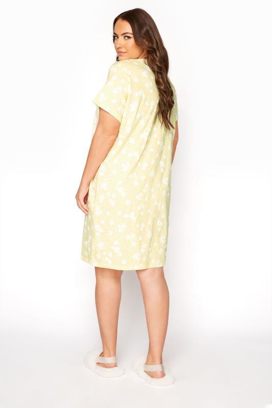 Yellow Daisy Placket Nightdress_C.jpg