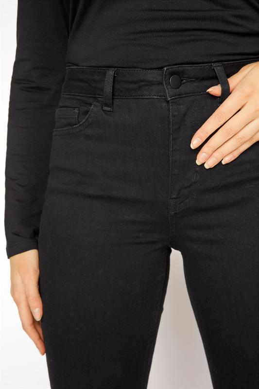 Black Ultra Stretch Bootcut Jeans_D.jpg