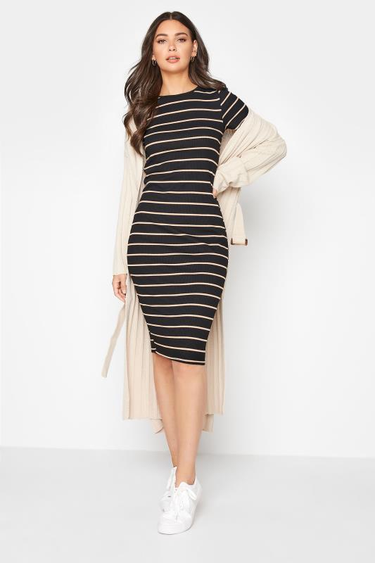 LTS Black Stripe Ribbed Dress_B.jpg