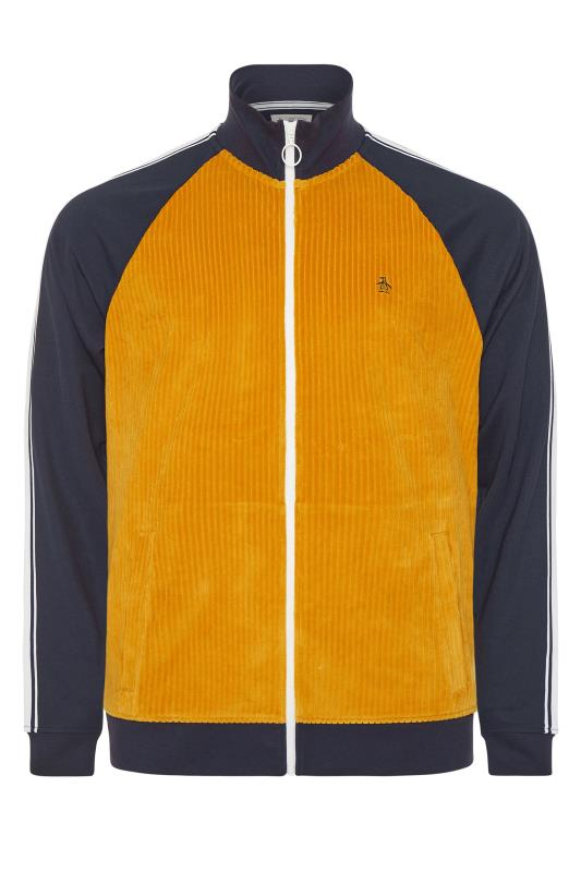 PENGUIN MUNSINGWEAR Navy & Orange Tape Track Jacket