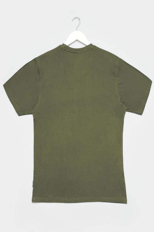 BadRhino Khaki Plain T-Shirt_BK.jpg