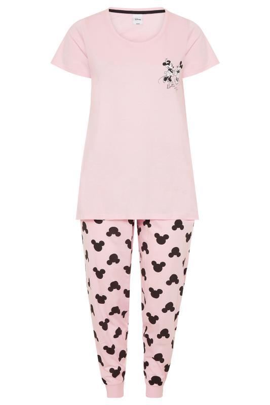 DISNEY Pink Mickey and Minnie Mouse Pyjama Set_F.jpg
