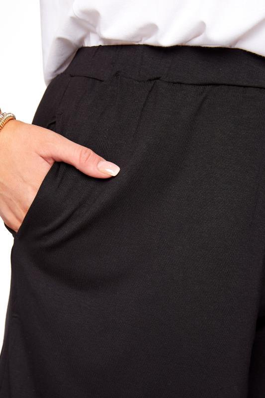 Black Jersey Pull On Shorts_RD.jpg