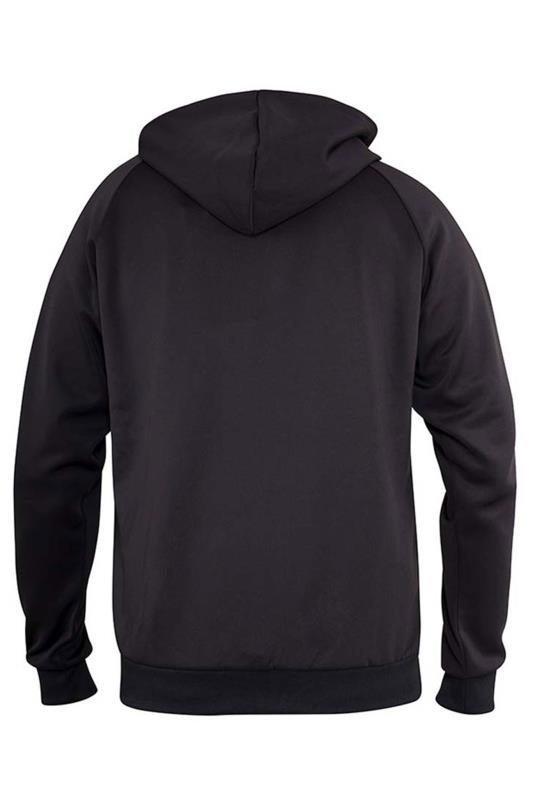 D555 Couture Black Zip Hoodie