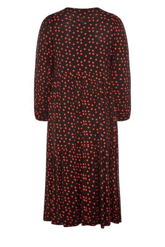 Black Polka Dot Peplum Midaxi Dress_BK.jpg