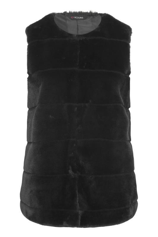 Black Pelted Faux Fur Gilet_F.jpg