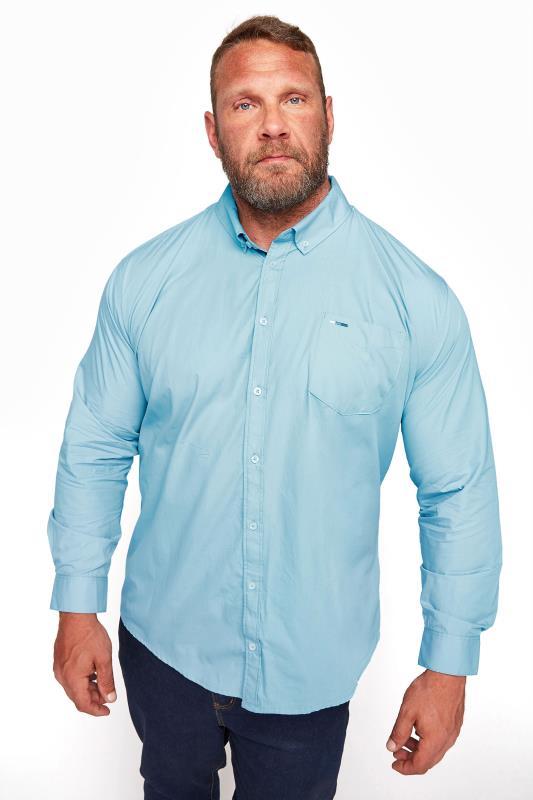 BadRhino Light Blue Essential Long Sleeve Oxford Shirt_M.jpg