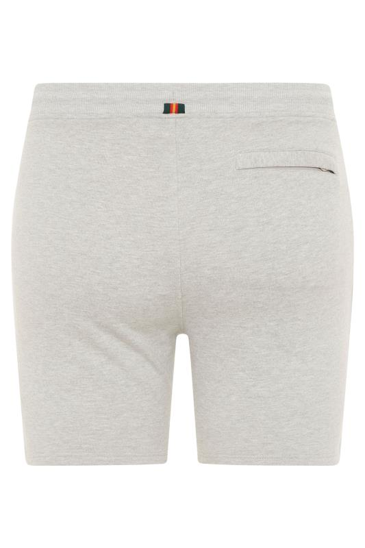 LUKE 1977 Grey Amsterdam Shorts_BK.jpg