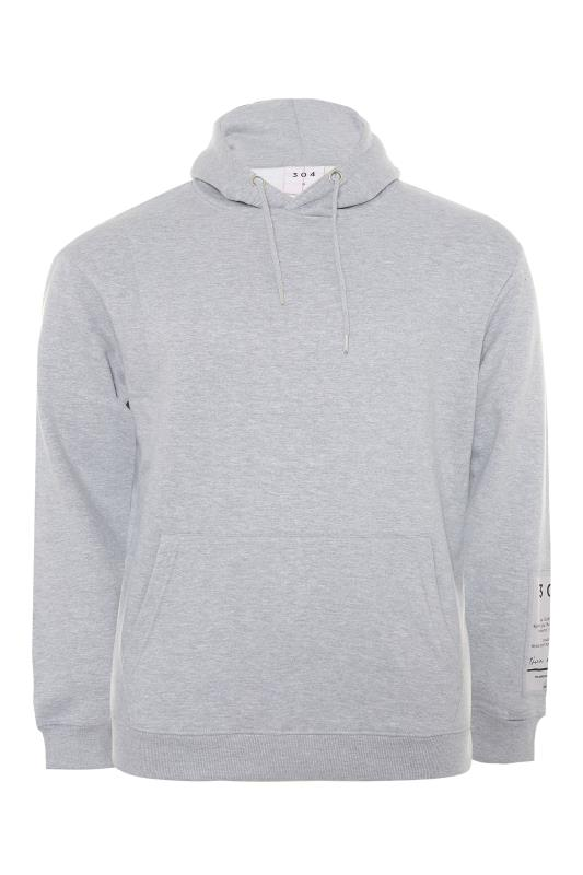Men's  304 CLOTHING Grey Patch Hoodie