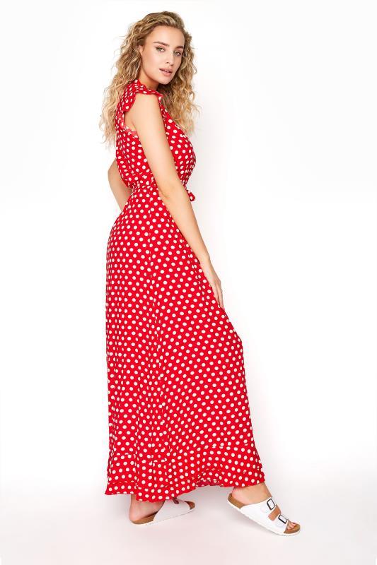 LTS Red Polka Dot Frill Maxi Dress_C.jpg