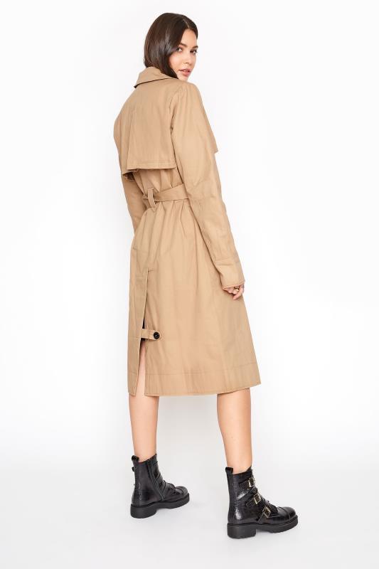 Stone Premium Cotton Trench Coat