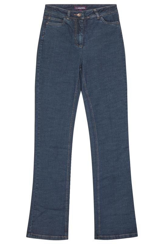 Blue Denim Bootcut Jeans